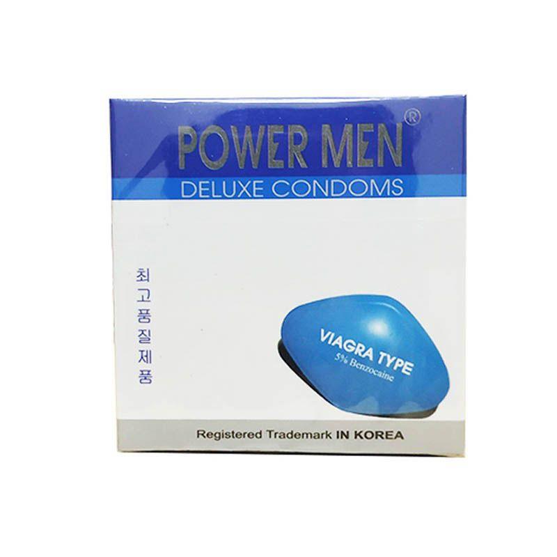 Bao Cao Su Power Men Viagra Type Hộp 3C (Power Men Trắng) - Chính Hãng -  Giá Tốt Chỉ 0 ₫ - Còn Hàng % Current_month_custom% / 2021